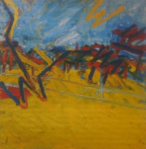 Auerbach - Primrose Hill, early morning