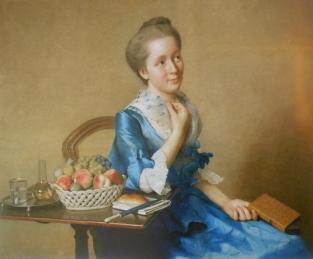Liotard - portrait of S Curchod