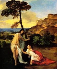Titian - Noli Me Tangere