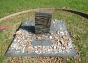 Bassani tomb: front . . .