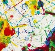 Sam Francis, Untitled 1987 - detail