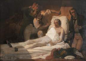 Armitage, Edward, 1817-1896; The Death of Nelson