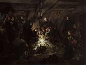 Death of Nelson by Devis