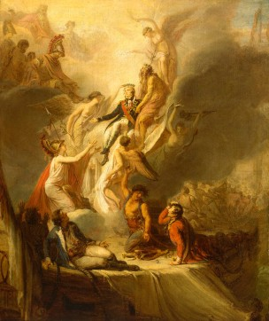 Death of Nelson by Legrand