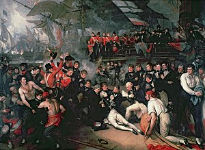 Death of Nelson by West